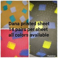 Dana Printed Sheets