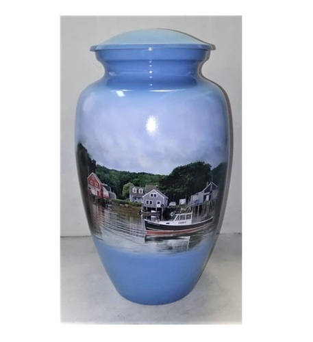 NEW ENGLAND ON THE WATER THEMED CREMATION URN