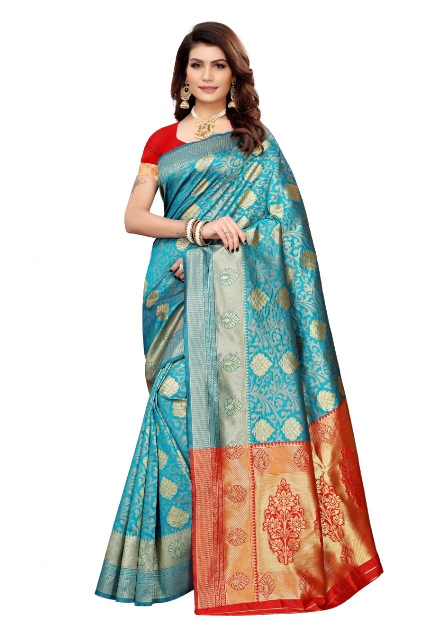 Navratri Special Banarasi Silk Saree