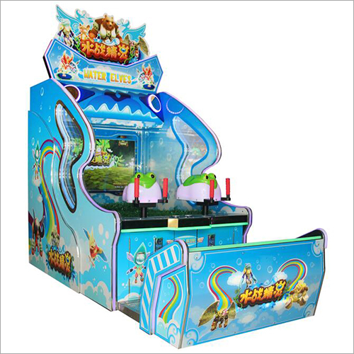 Water Fight Elf Arcade Machine