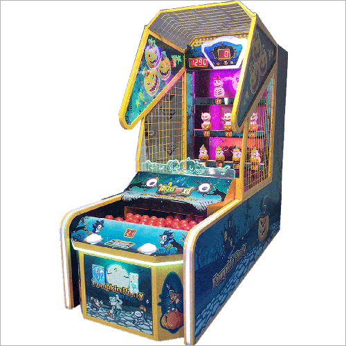 Pumpkin Party Arcade Game Machine