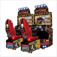 Dirty Drivin Arcade Game Machine