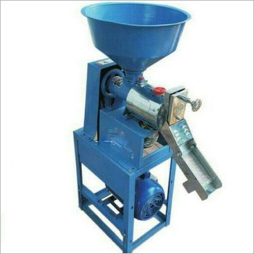 Semi Automatic Mini Rice Mill Machine