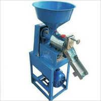 Semi Automatic Mini Rice Mill Machine