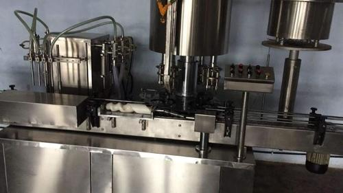 Automatic Filling & Capping machine