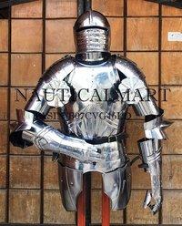 NAUTICALMART LARP German Maximillian Half Suit Halloween Armor Costume