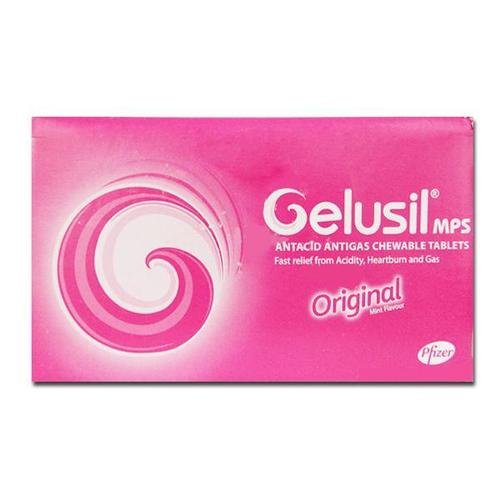 Gelusil chewable tablets