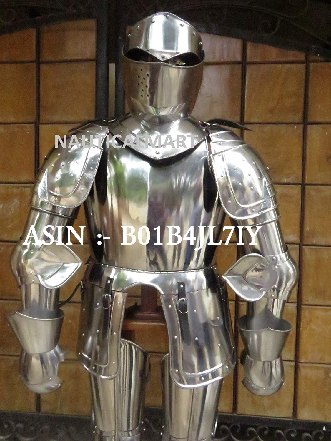 NAUTICALMART 16th Century Spanish Full Suit of Armor Reenactment Halloween Costume