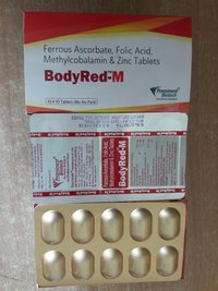 Ferrous Ascorbate 100 mg,Folic Acid 1.1 mg,Zinc 22.5 mg, Methylcobalamin 1500 mcg Tablet