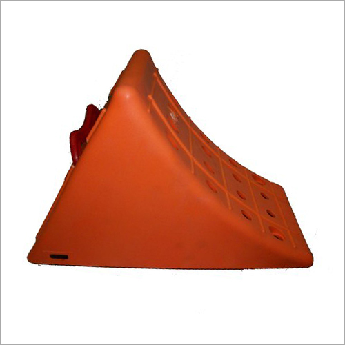 DIN Specification Plastic Wheel Chock