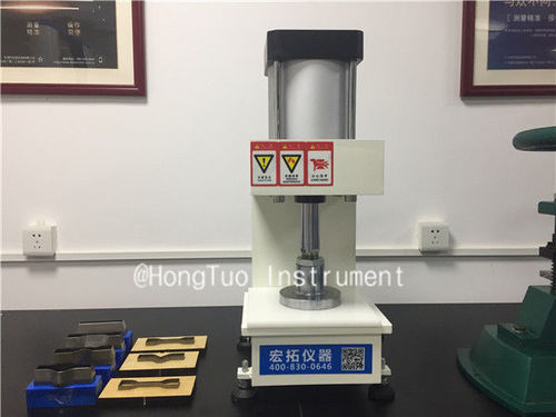 Pneumatic Press Plastic Rubber Slicer
