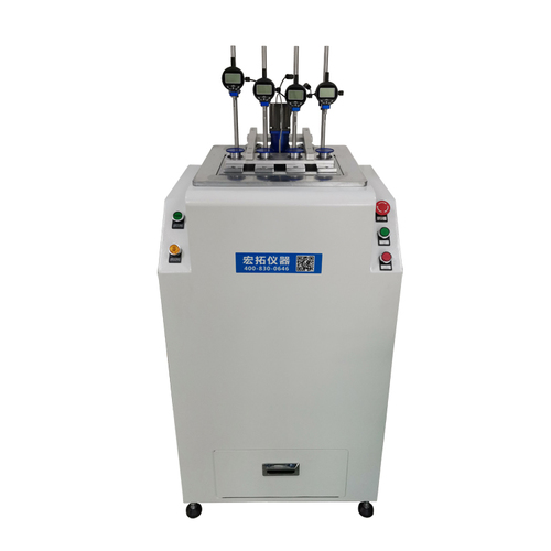 Plastic HDT Vicat Testing Machine , Digital HDT Heat Distortion Vicat Softening Point Apparatus