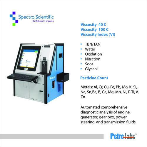 Oil Analyzer Machine