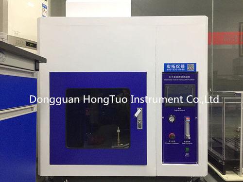Horizontal Vertical Combustion Testing Equipment Burn Resistance Measurement
