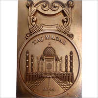 Copper Electrode Of Taj Mahal Key Ring