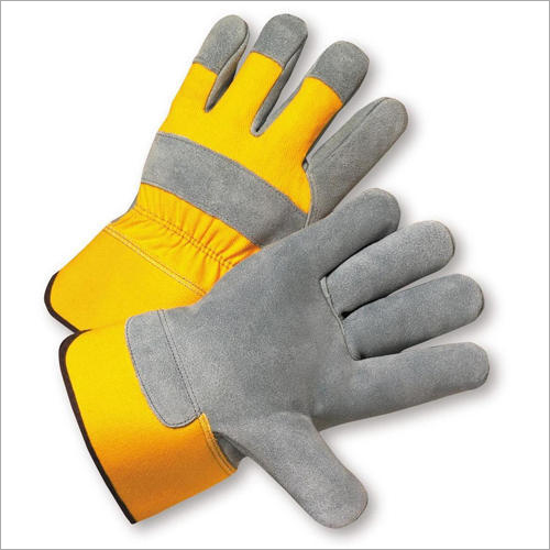 Safety Leather Hand Gloves