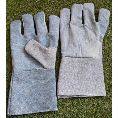 Denim Fabric Gloves