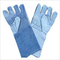 Safety Jeans Fabric Gloves