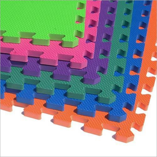 Colored EVA Interlocking Mat