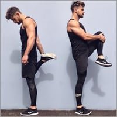 Men Jogging Shorts Outfit
