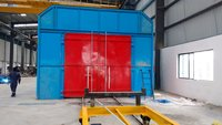 Semi Automatic Shot Blasting Machine