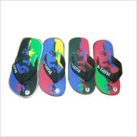 PU Printed Slipper