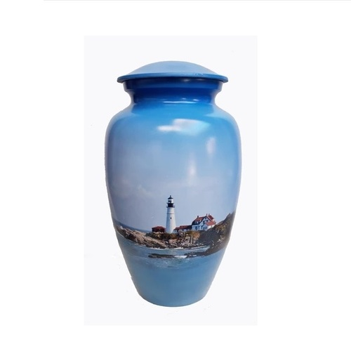 LIGHTHOUSE CREMATION URN- NEW