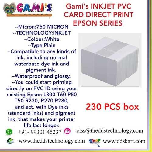 Epson Pvc Cards Prices
