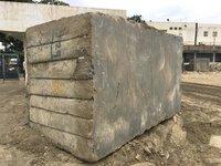 Cutter Size Rough Granite Block