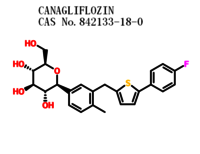 Canagliflozin/TA 7284 with best price CAS 842133-18-0 for Diabetes medication