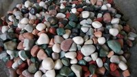 Color full Fancy Agate polished Pebbles Stone