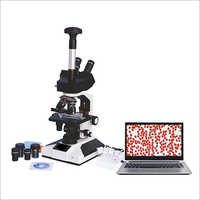 Laboratory Trinocular Microscope USB Camera