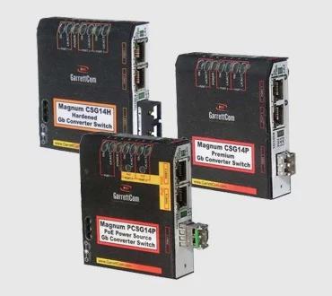 BELDEN Magnum CSG14 Gigabit Converter Switches