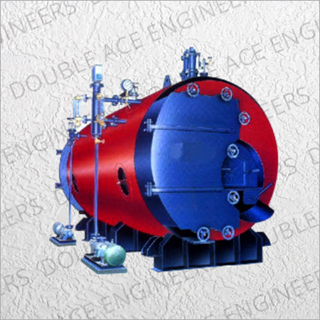 IBR Horizontal Three Pass Wet Back Coal Steam Boiler