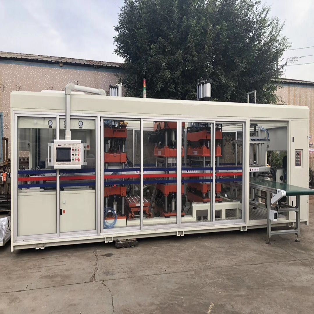 Positive and Negative disposable food container Thermoforming Machine