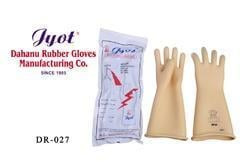 Rubber Electrical Seamless Gloves
