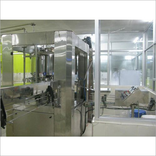 Water Bottle Filling Plant Machinery