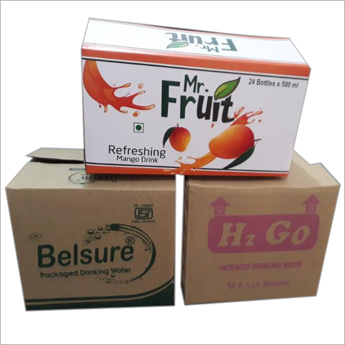 Mono Corrugated Printed Carton