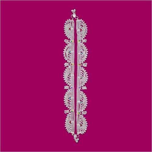 3 Chain Lenth Toran Anklet