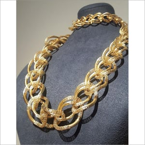 Yellow 14K Italian Gold Rope Chain