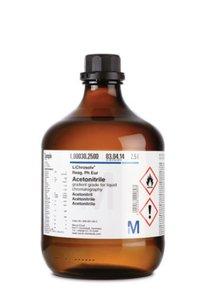 Acetonitrile with 0.1% (v:v) trifluoroacetic acid