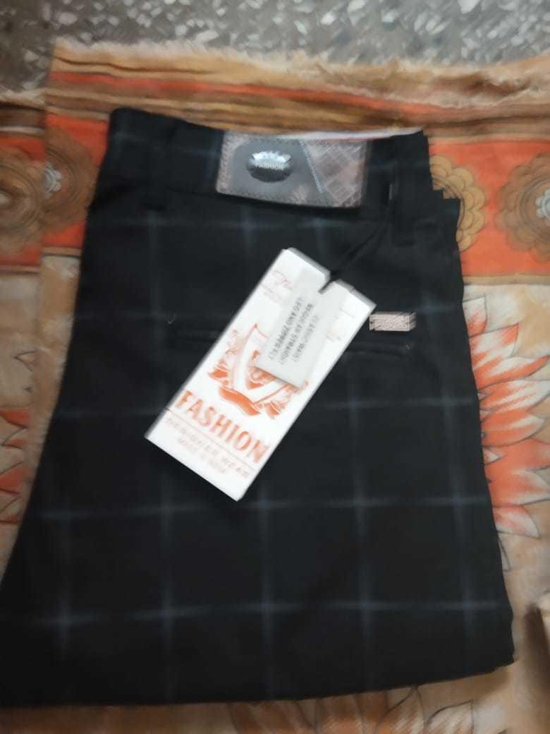 Cotton Check Pant