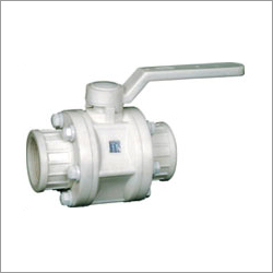PVDF Thread End Ball Valve