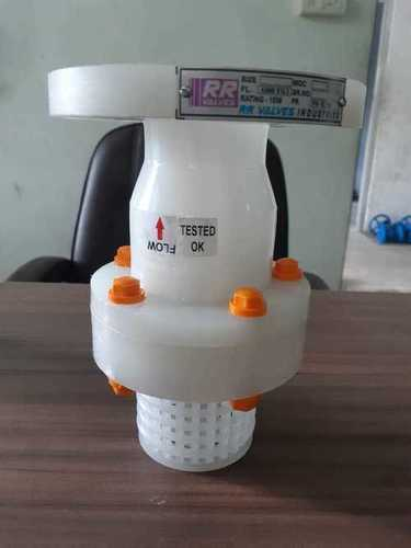 PVDF Flange End Foot Valve