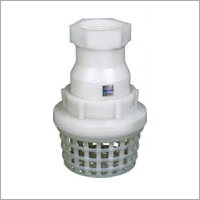 PVDF Thread End Foot Valve
