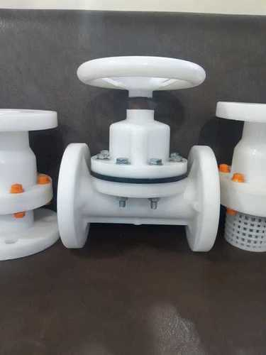 PVDF Flange End Diaphragm Valve