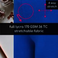 4-Way V Cut Cotton Lycra Churidar Leggings -170 GSM 36 Thread Count
