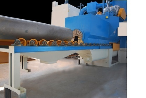 Diabola Conveyor Tunnel Type Airless Shot Blasting Machine