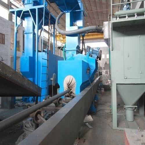 Rod Bar Shot Blasting Machine