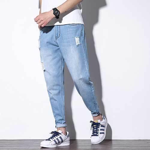 Men Ruff Jeans